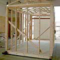 Custom Crafted Construction Frame